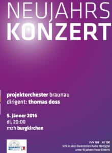 Neujahrskonzert Projektorchester Braunau