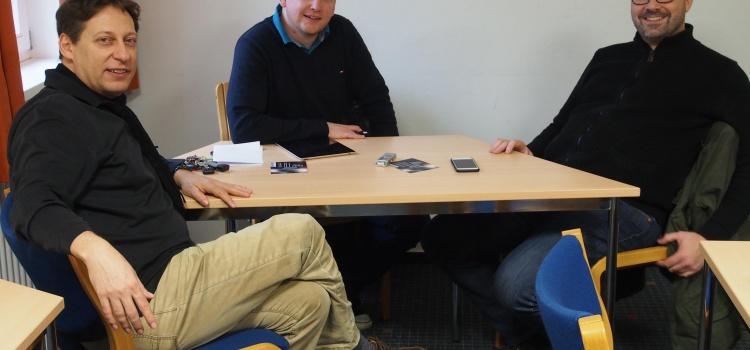 Thomas Doss und Hubert Hoche im Doppel-Interview mit Klaus Härtel / Clarino