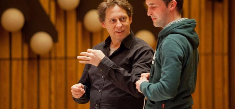 Dirigier-Workshop mit Thomas Doss und seinen Studierenden des Claudio Monteverdi-Konservatoriums Bozen