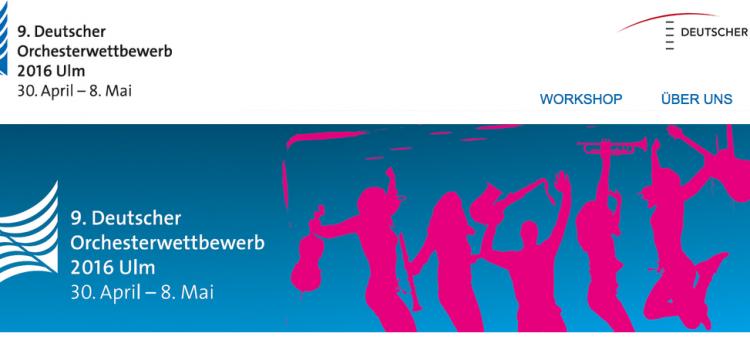 Deutscher Orchesterwettbewerb in Ulm: Beiträge im Blasmusikblog!