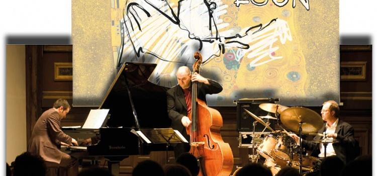 Ein Jazz-Quartett mit 3 Musikern und einem Zeichner!??