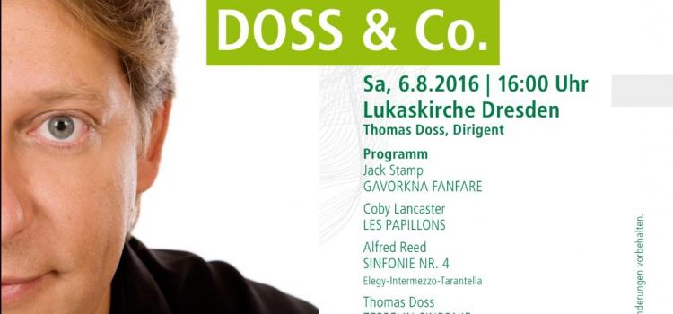 Thomas Doss arbeitet mit der Jungen Bläserphilharmonie Sachsen