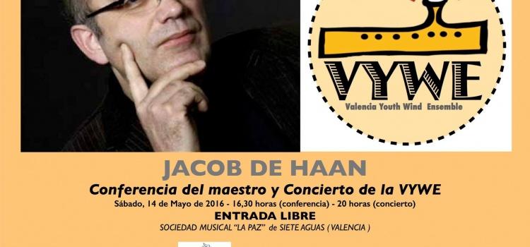 """Spanische Erstaufführung der """"Salamander-Sinfonie"""" von / mit Jacob de Haan"""