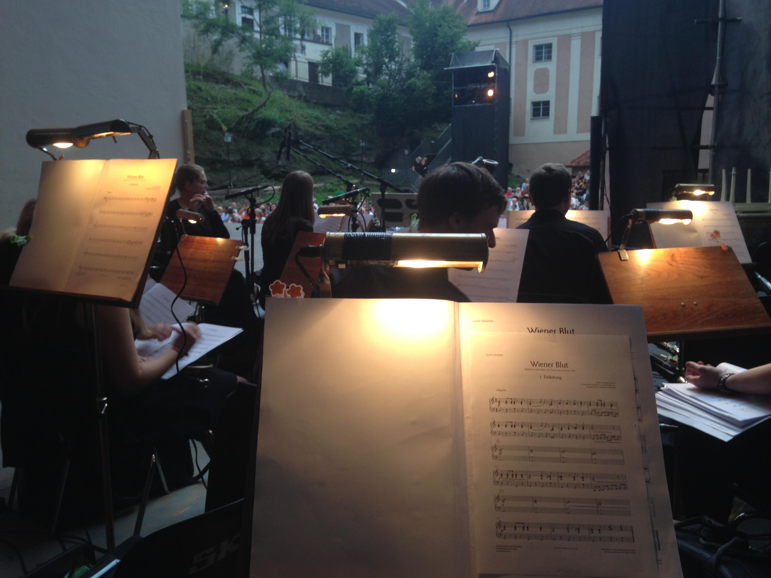 Wiener Blut Orchestergraben