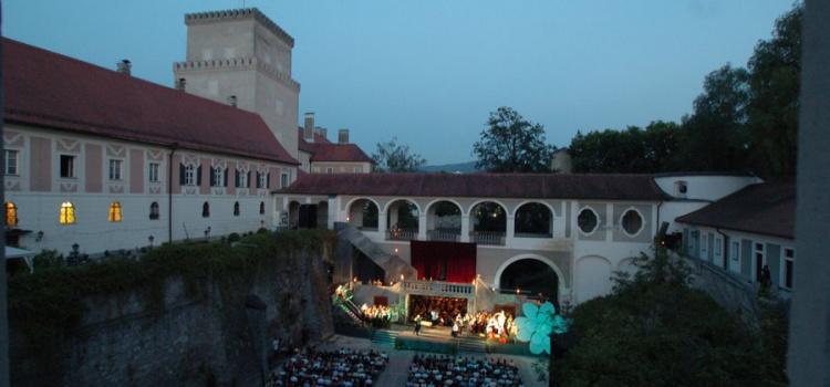 Siegmund Andraschek: eine Operettenaufführung mit Bläserensemble