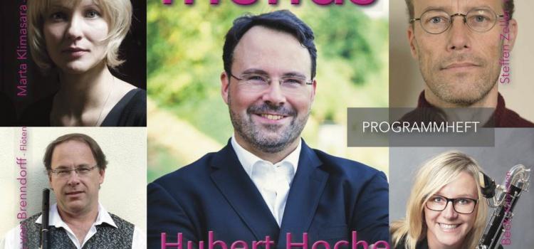 Hubert Hoche: Porträtkonzert mit hochkarätigen Musikern