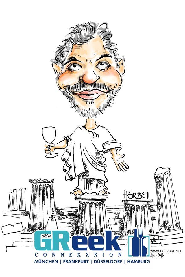 Rupert Hörbst Karikatur