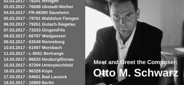 Meet and Greet: Otto M. Schwarz – On Tour!