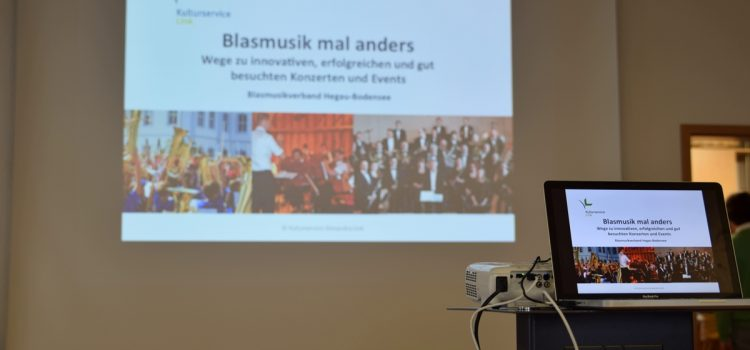 """Workshop """"Blasmusik mal anders"""" im Blasmusikverband Hegau-Bodensee"""