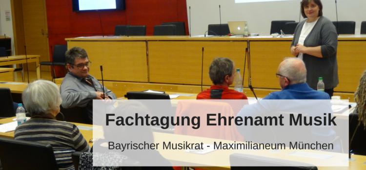 Fachtagung Ehrenamt Musik