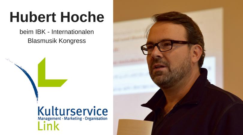 Hubert Hoche beim IBK