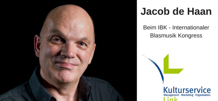 Jacob de Haan beim IBK – Internationaler Blasmusik Kongress