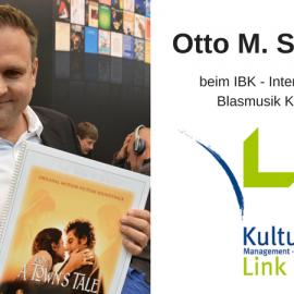 Otto M. Schwarz beim IBK – Internationaler Blasmusik Kongress