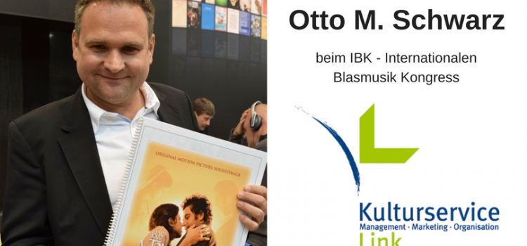 Otto M. Schwarz beim IBK – Internationaler Blasmusik Kongress