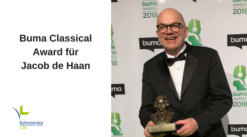 Buma Classical Award für Jacob de Haan(2)