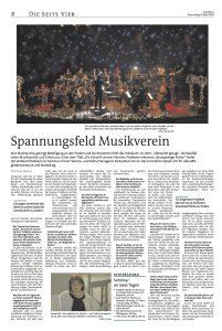 Interview Grenzecho Spannungsfeld Musikverein