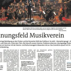 """Interview zum Workshop """"Zukunft der Musikvereine"""""""