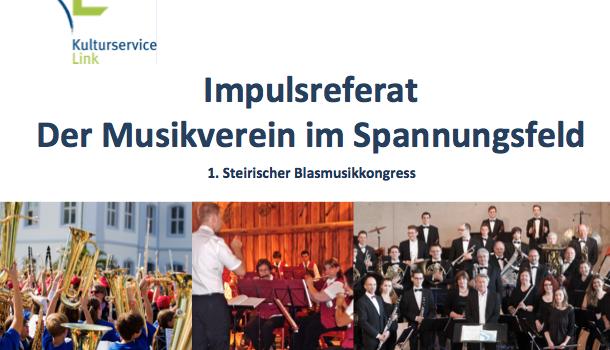 1. Steirischer Blasmusikkongress