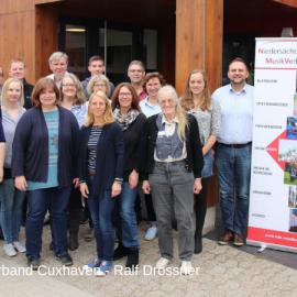 """Workshop """"Zukunft der Musikvereine"""" bei den Kreisverbänden Cuxhaven und Stade"""