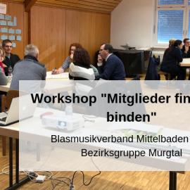 """Workshop """"Mitglieder finden und binden"""" im Murgtal"""