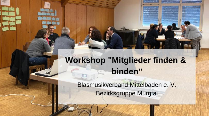 Workshop Mitglieder finden & binden