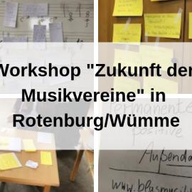 """Workshop """"Zukunft der Musikvereine"""" bei der Kontaktstelle Musik Rotenburg-Bremervörde"""