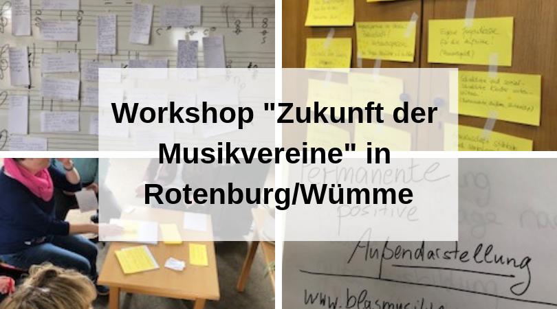 Workshop Zukunft der Musikvereine_ in Rotenburg_Wümme