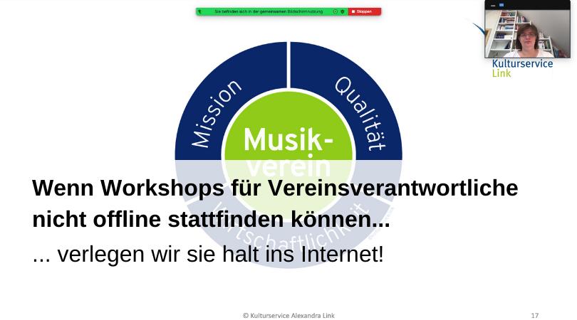 Workshops ins Internet