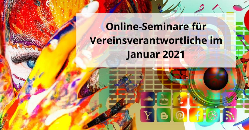 Online-Seminare Januar 2021