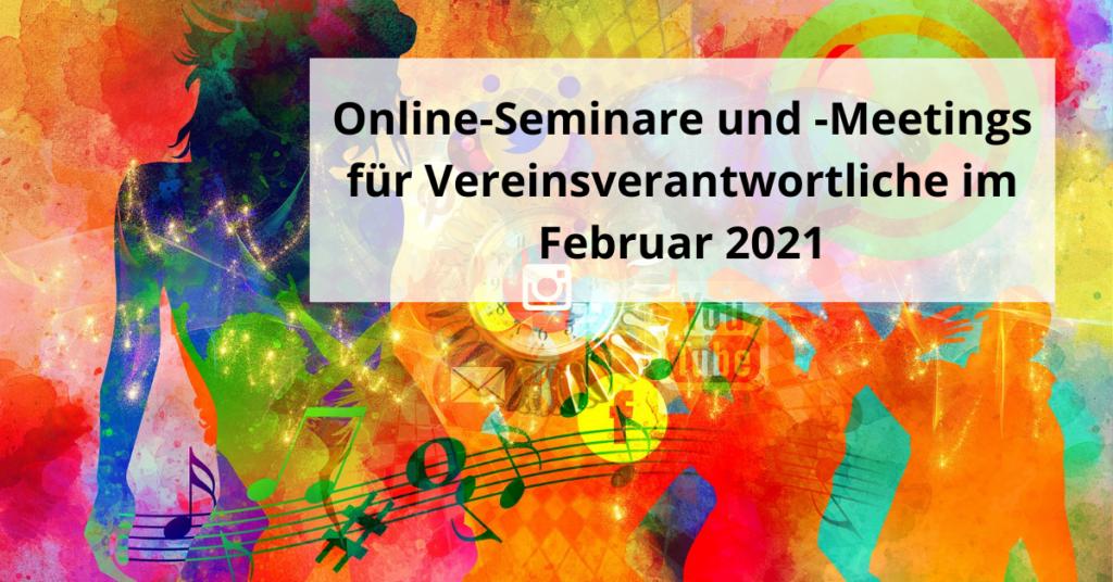 Online-Seminare Februar 2021