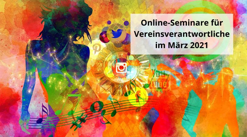Online-Seminare für Vereinsverantwortliche im März 2021