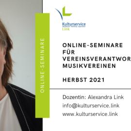 Online-Seminare für Vereinsverantwortliche im Herbst 2021