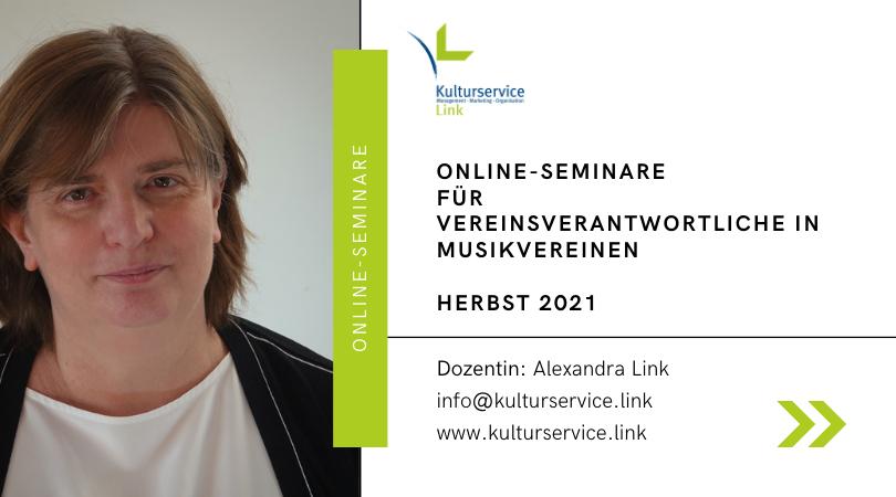 Online-Seminare Herbst 2021