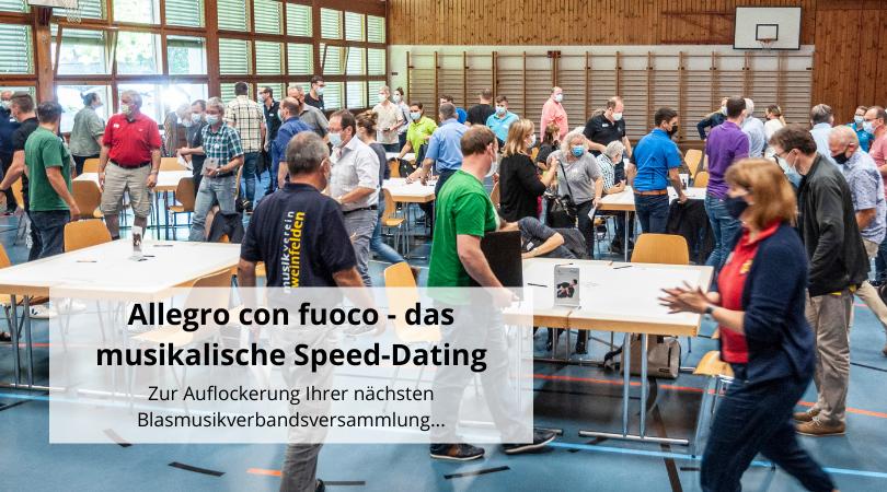 Allegro con fuoco - das musikalische Speed-Dating©